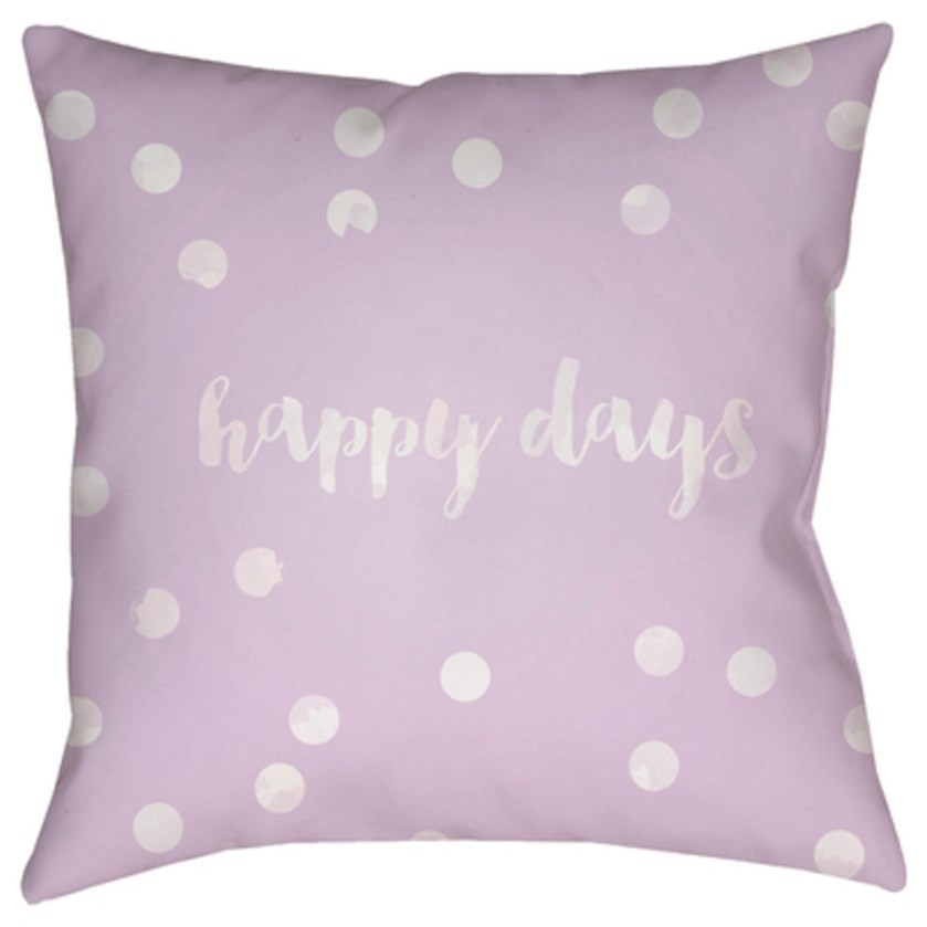 Happy Days Pillow by Ruby-Gordon Accents at Ruby Gordon Home