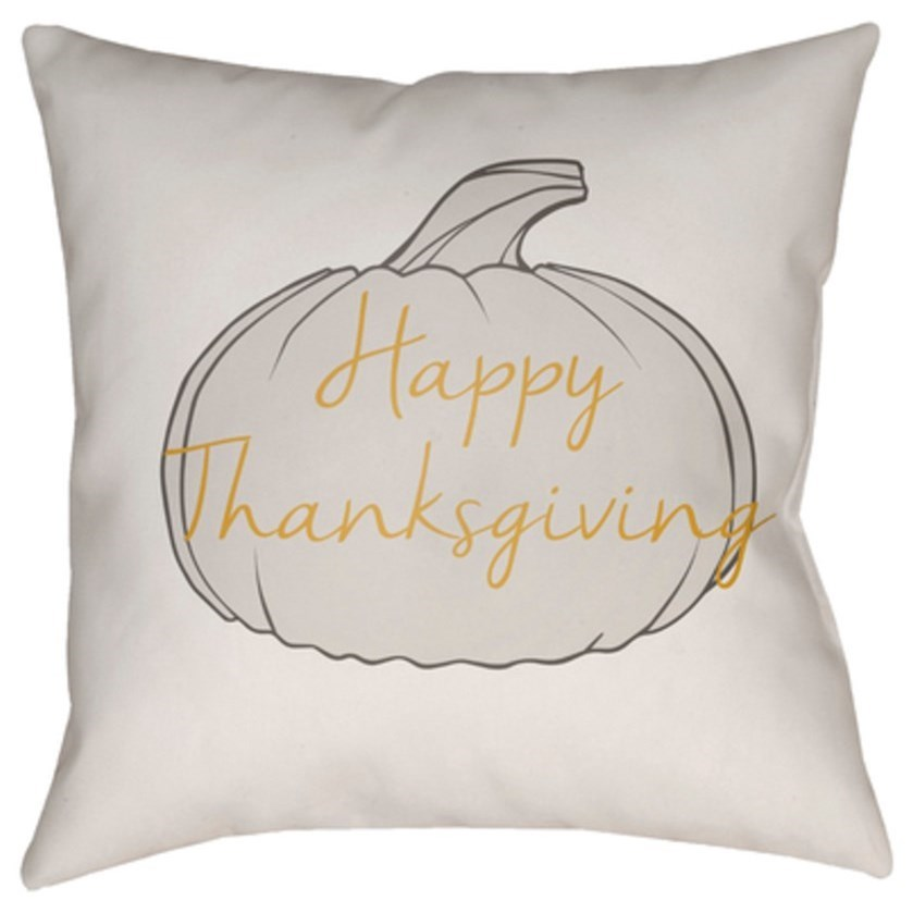 Happy Thanksgiving Pillow by Ruby-Gordon Accents at Ruby Gordon Home