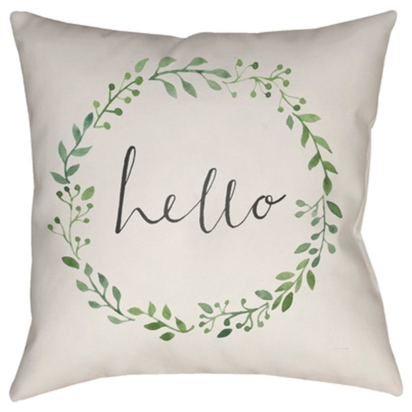 Hello Pillow by Surya at SuperStore