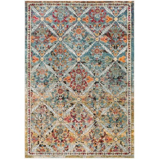 "Herati 3'11"" x 5'11"" Rug by 9596 at Becker Furniture"