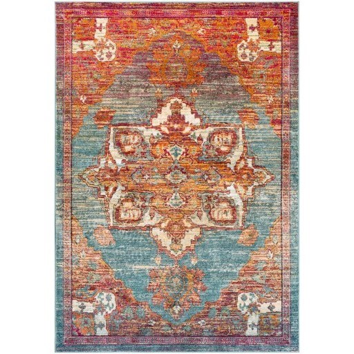 "Herati 7'10"" x 10'6"" Rug by 9596 at Becker Furniture"