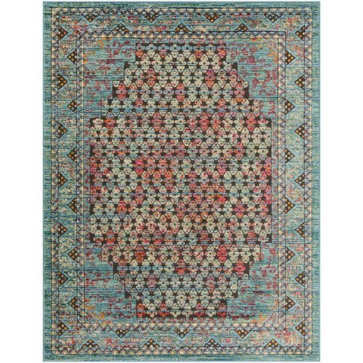 "Herati 2' x 2'11"" Rug by Surya at Upper Room Home Furnishings"