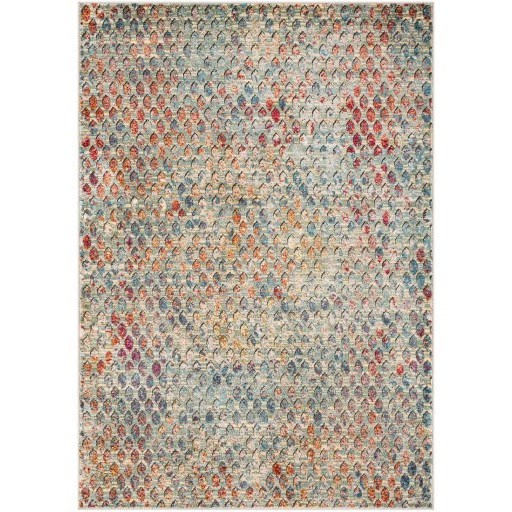 "Herati 5'3"" x 7'3"" Rug by 9596 at Becker Furniture"