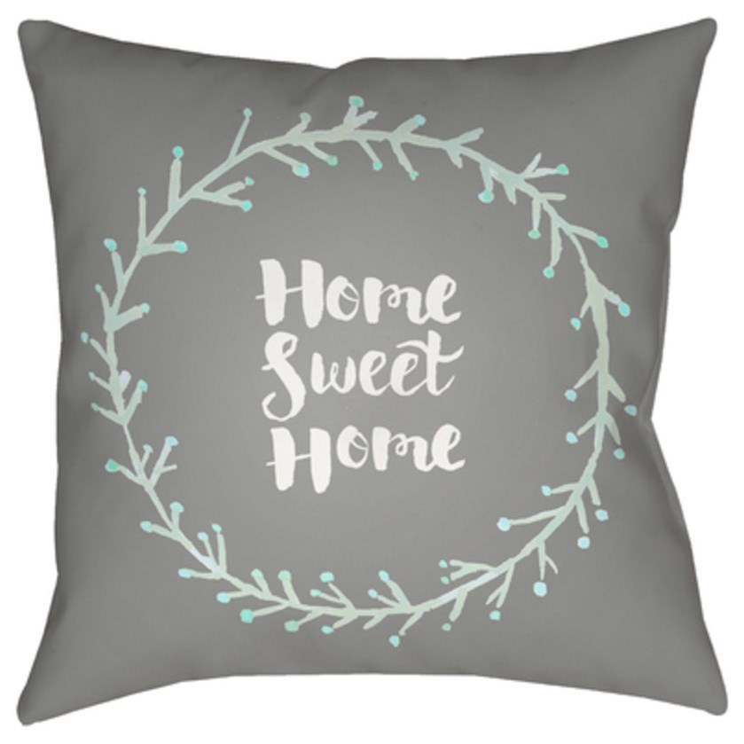 Home Sweet Home II Pillow by Surya at SuperStore