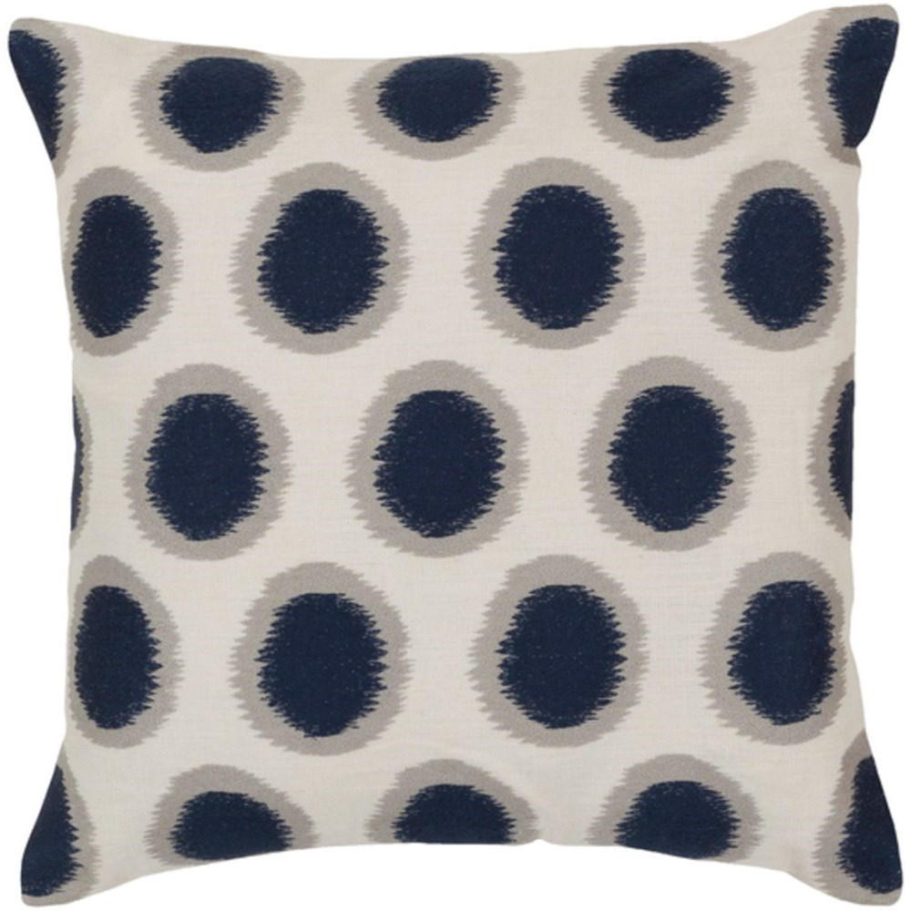 Ikat Dots Pillow by Surya at SuperStore