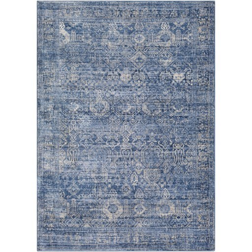 "Indigo 6'7"" x 9' Rug by Surya at Factory Direct Furniture"