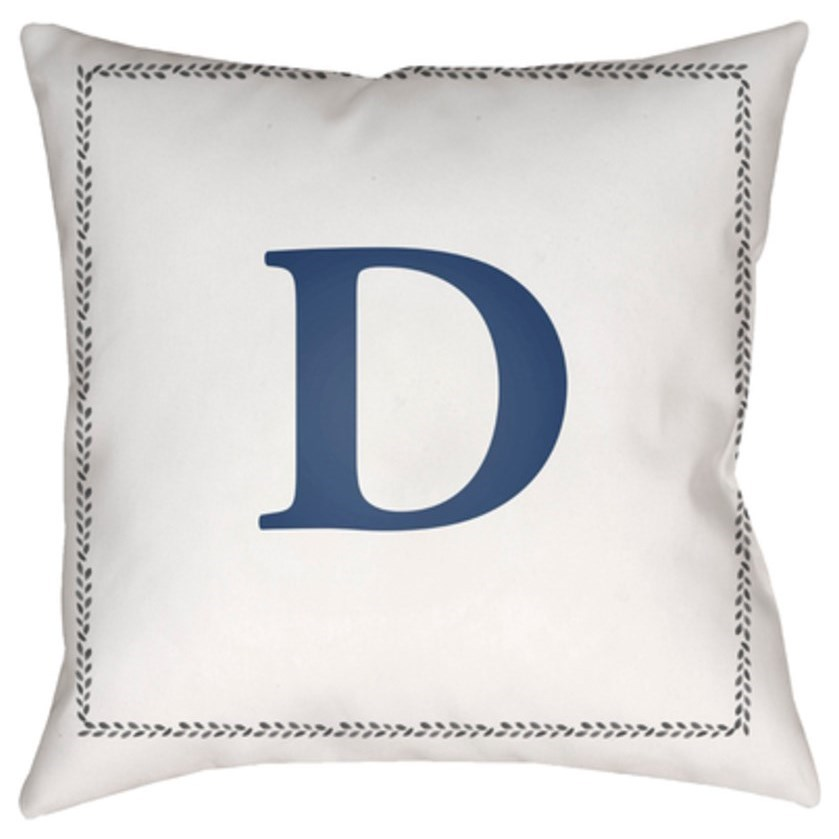 Initials Pillow by Surya at SuperStore