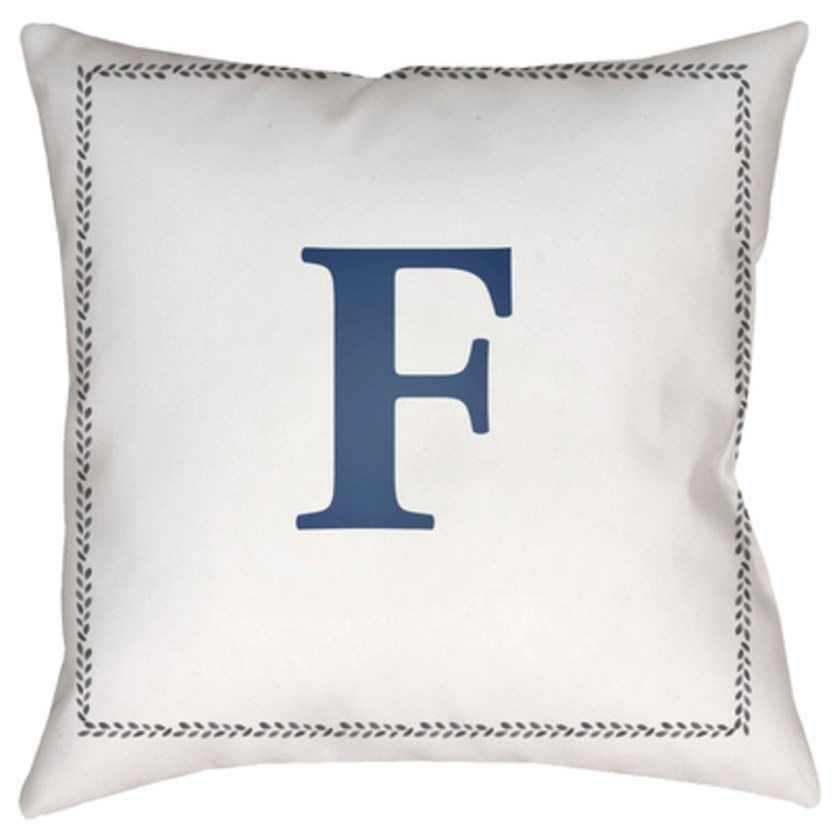 Initials Pillow by Ruby-Gordon Accents at Ruby Gordon Home