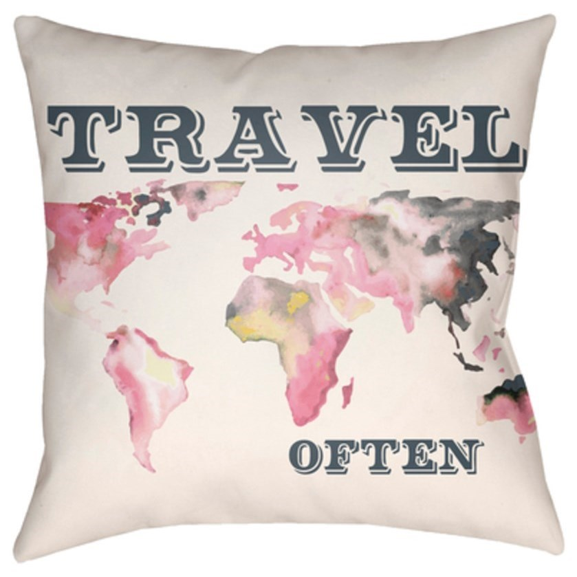 Jetset Pillow by Surya at Upper Room Home Furnishings