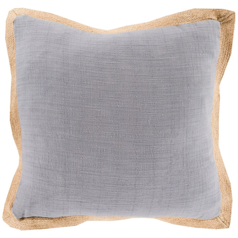 Jute Flange Pillow by 9596 at Becker Furniture