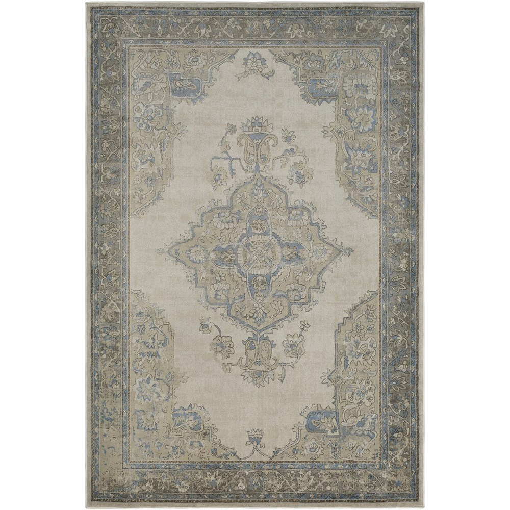 """Kaitlyn 5' 3"""" x 7' 6"""" Rug by 9596 at Becker Furniture"""