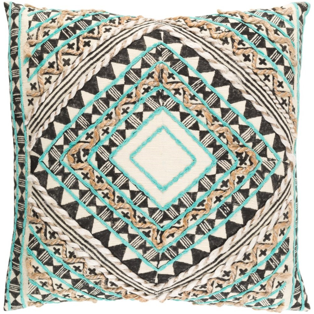 Kazinga Pillow by Surya at SuperStore