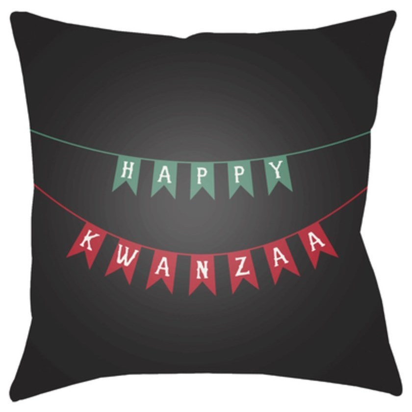 Kwanzaa I Pillow by Ruby-Gordon Accents at Ruby Gordon Home