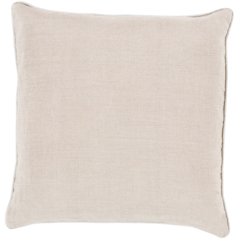 Linen Piped Pillow by 9596 at Becker Furniture