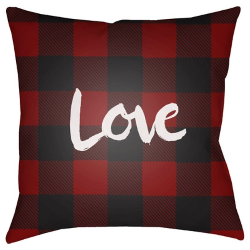 Love II Pillow by Ruby-Gordon Accents at Ruby Gordon Home