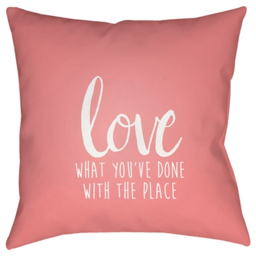 Love The Place Pillow by Ruby-Gordon Accents at Ruby Gordon Home
