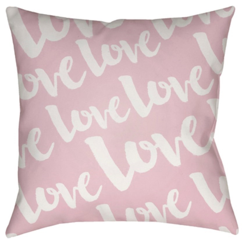 Love Pillow by Surya at Story & Lee Furniture