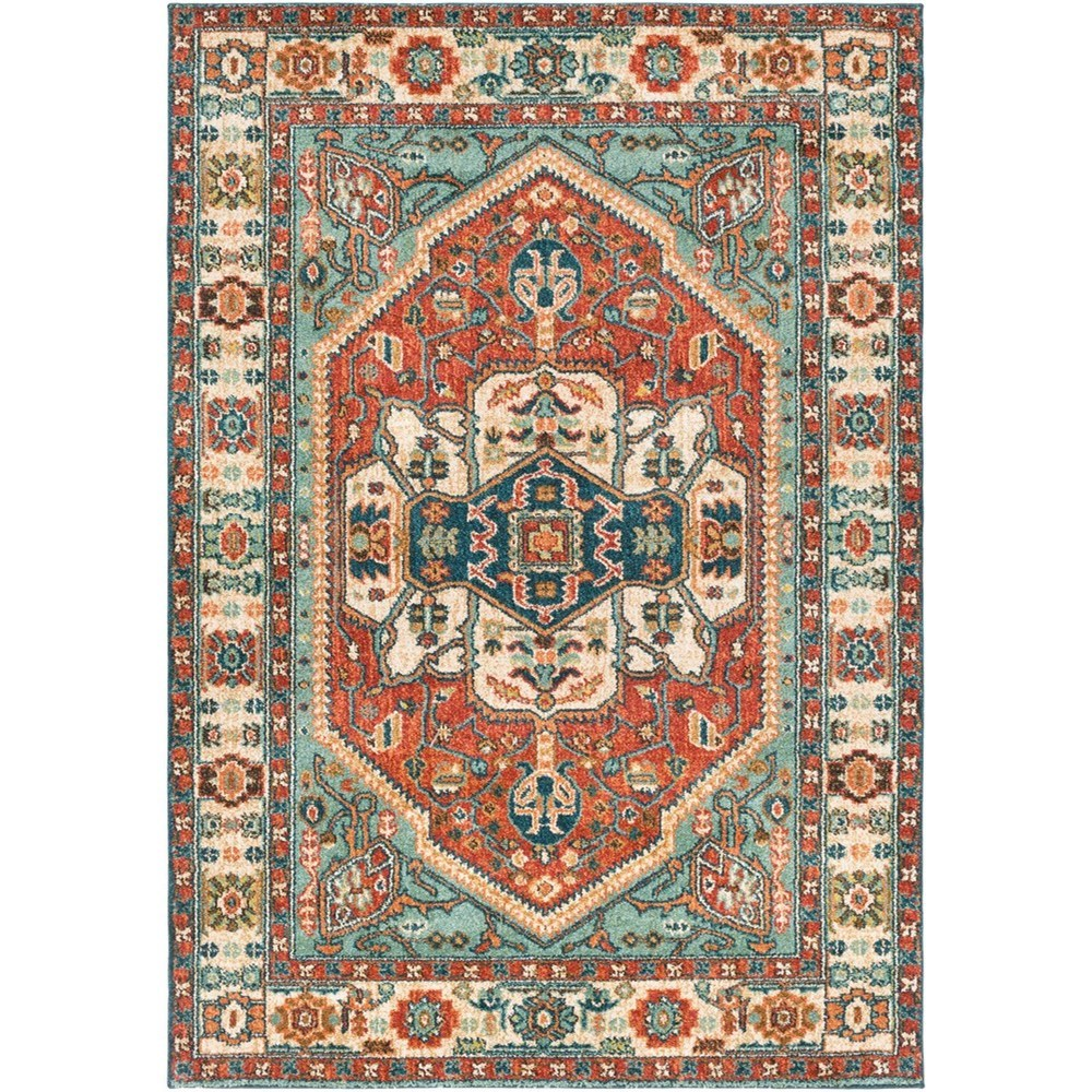 "Masala Market 5' 3"" x 7' 3"" Rug by 9596 at Becker Furniture"