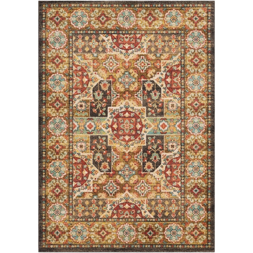 "Masala Market 2' 7"" x 7' 3"" Runner Rug by Surya at SuperStore"