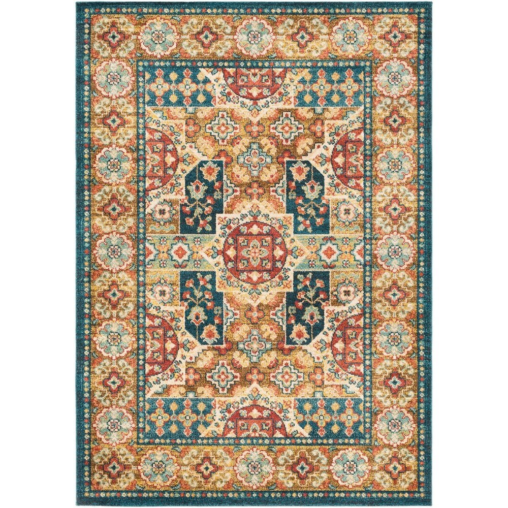 "Masala Market 7' 10"" x 10' 3"" Rug by Ruby-Gordon Accents at Ruby Gordon Home"