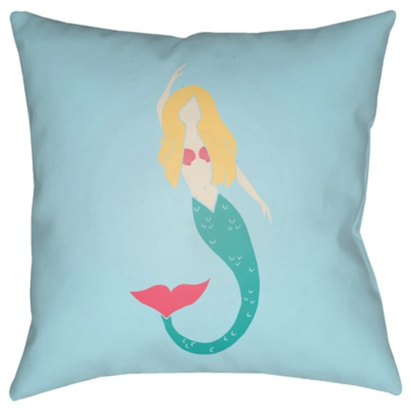 Mermaid Pillow by Surya at SuperStore