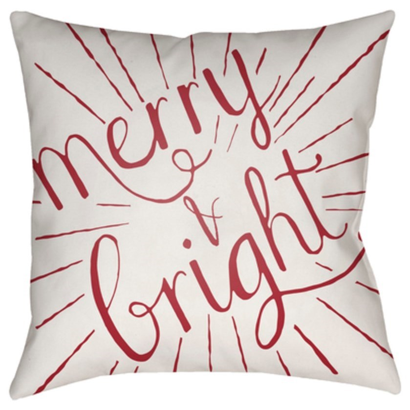 Merry and Bright Pillow by Ruby-Gordon Accents at Ruby Gordon Home