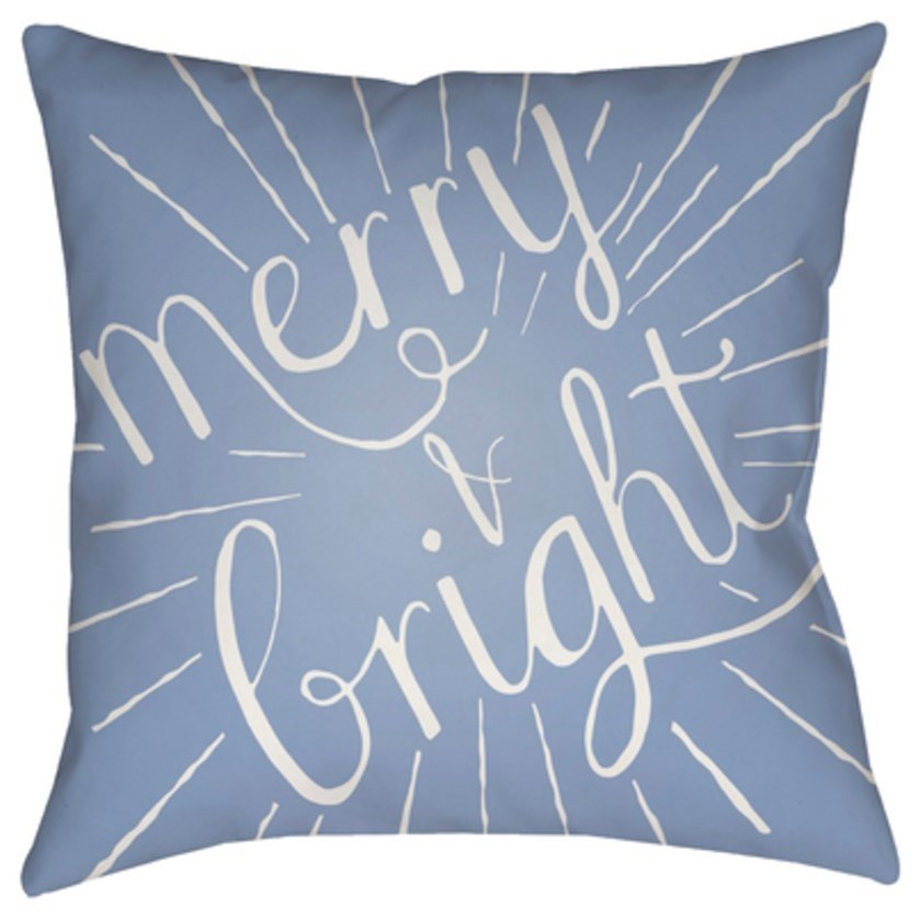 Merry and Bright Pillow by Surya at SuperStore