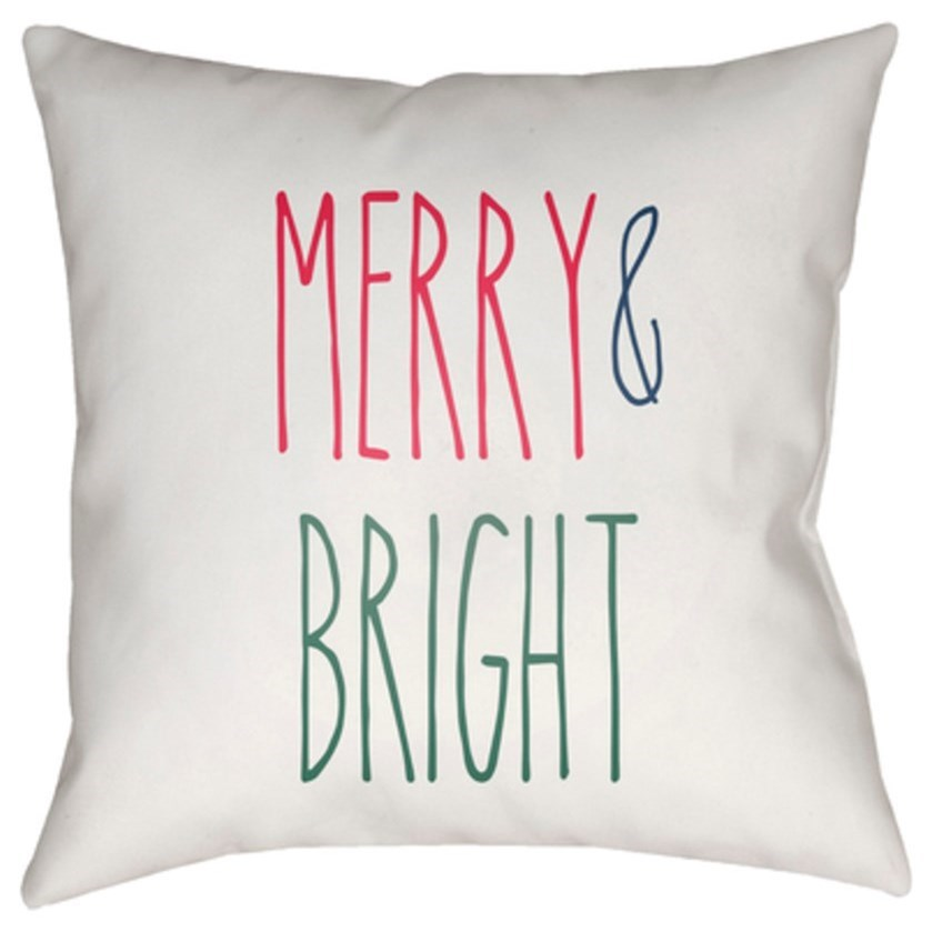 Merry Bright Pillow by Surya at SuperStore
