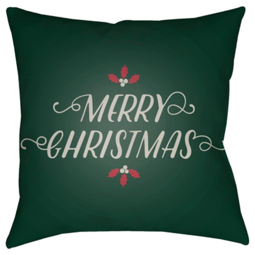Merry Christmas I Pillow by Ruby-Gordon Accents at Ruby Gordon Home