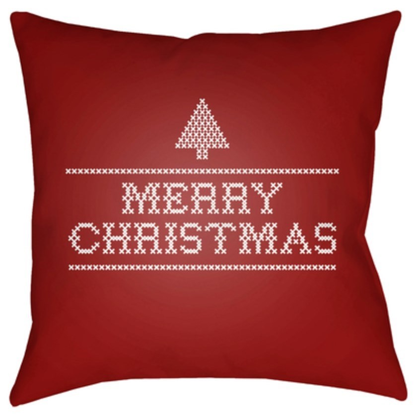 Merry Christmas III Pillow by Surya at SuperStore