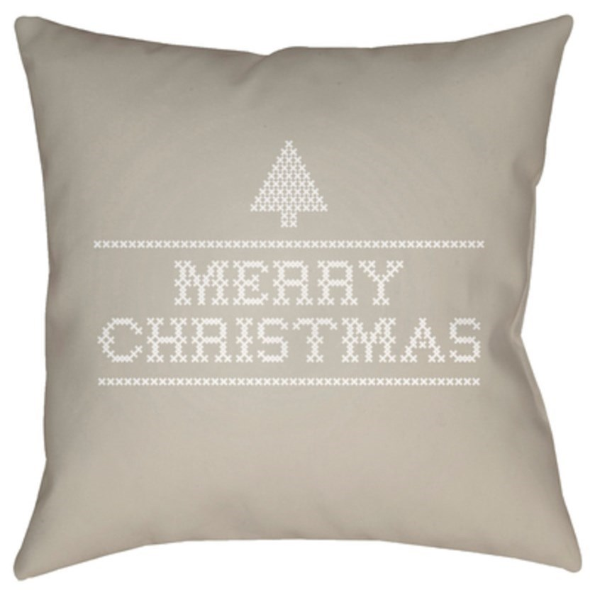 Merry Christmas III Pillow by Ruby-Gordon Accents at Ruby Gordon Home