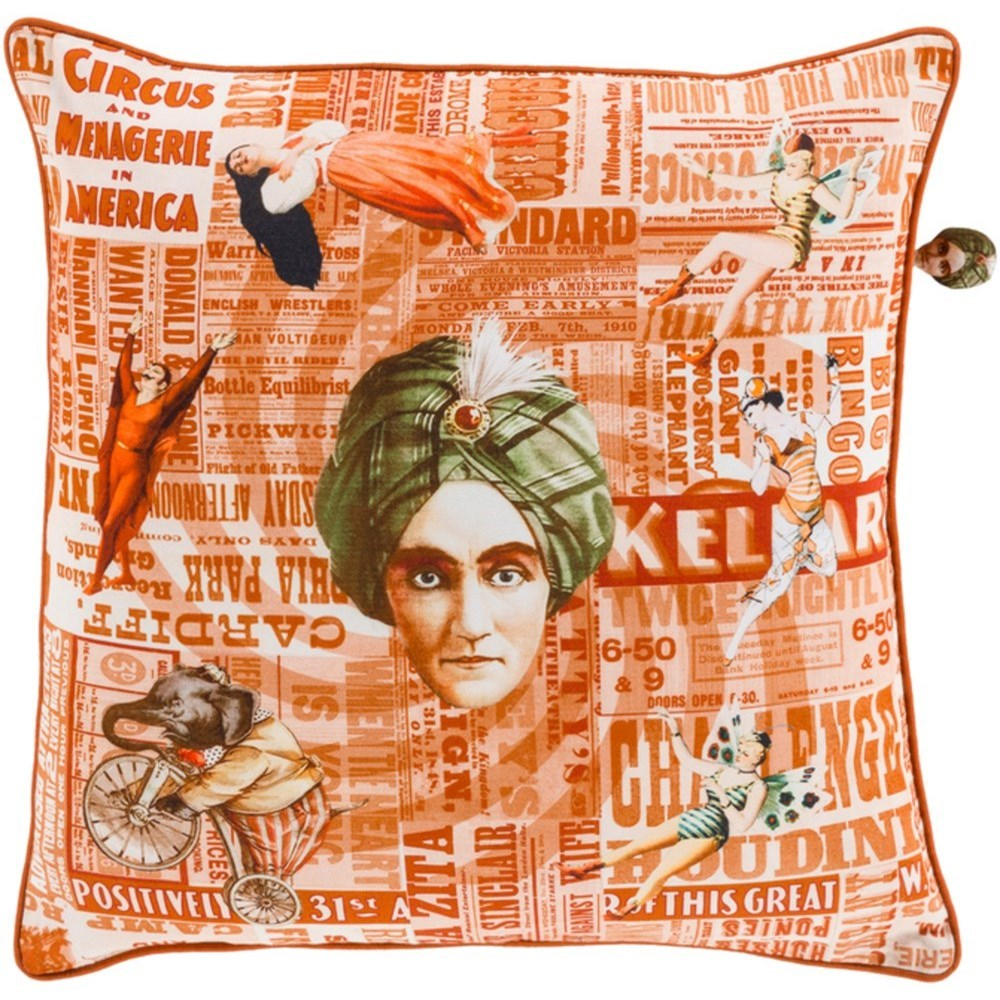 Mind Games Pillow by Surya at Esprit Decor Home Furnishings