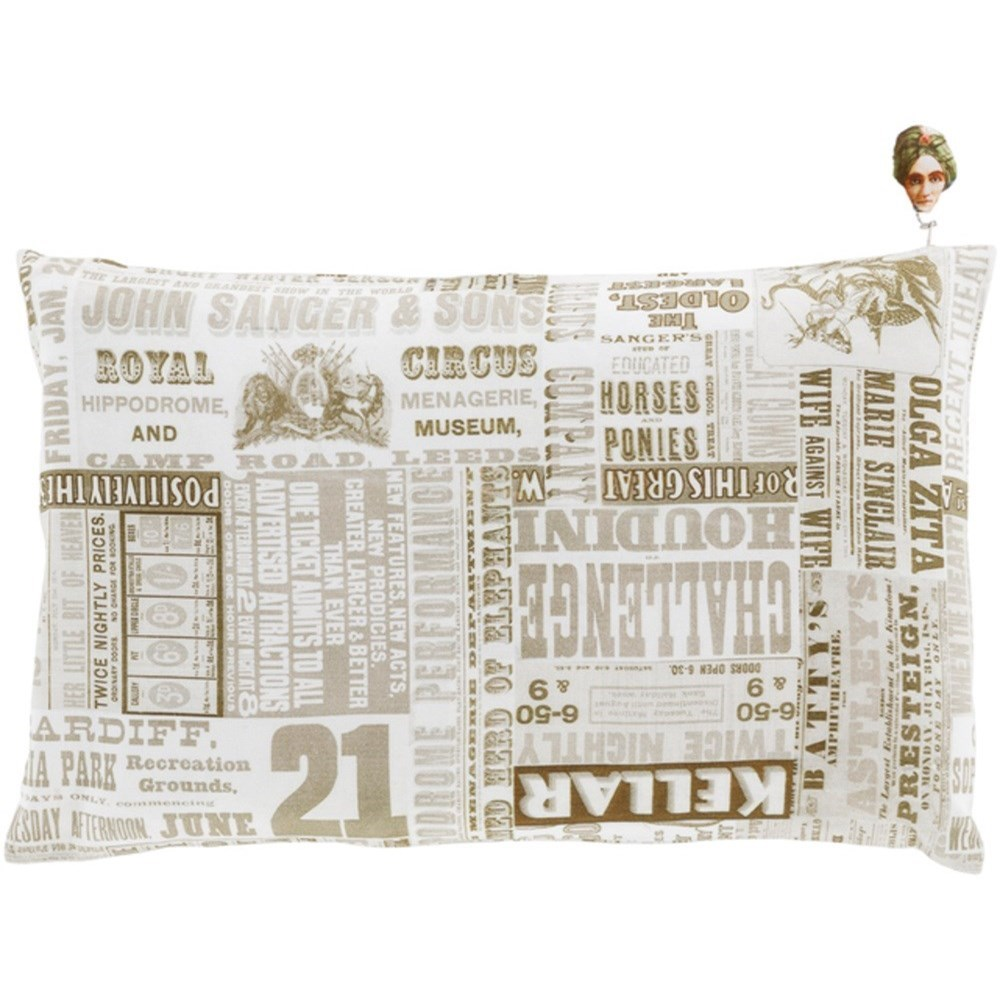Mind Games Pillow by Ruby-Gordon Accents at Ruby Gordon Home