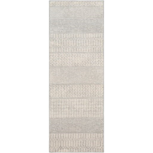 "Monaco 5'3"" Round Rug by Surya at Upper Room Home Furnishings"