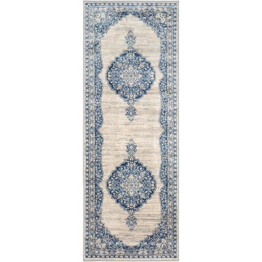"""Monaco 5'3"""" x 7'3"""" Rug by 9596 at Becker Furniture"""