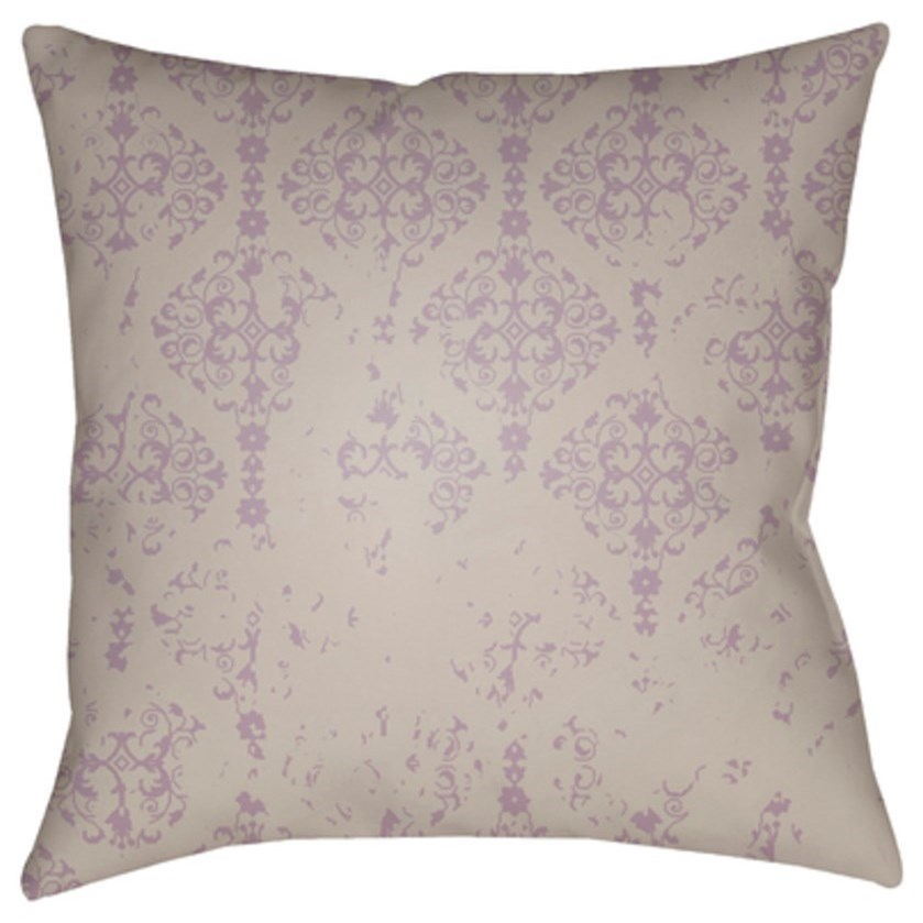 Moody Damask Pillow by Ruby-Gordon Accents at Ruby Gordon Home
