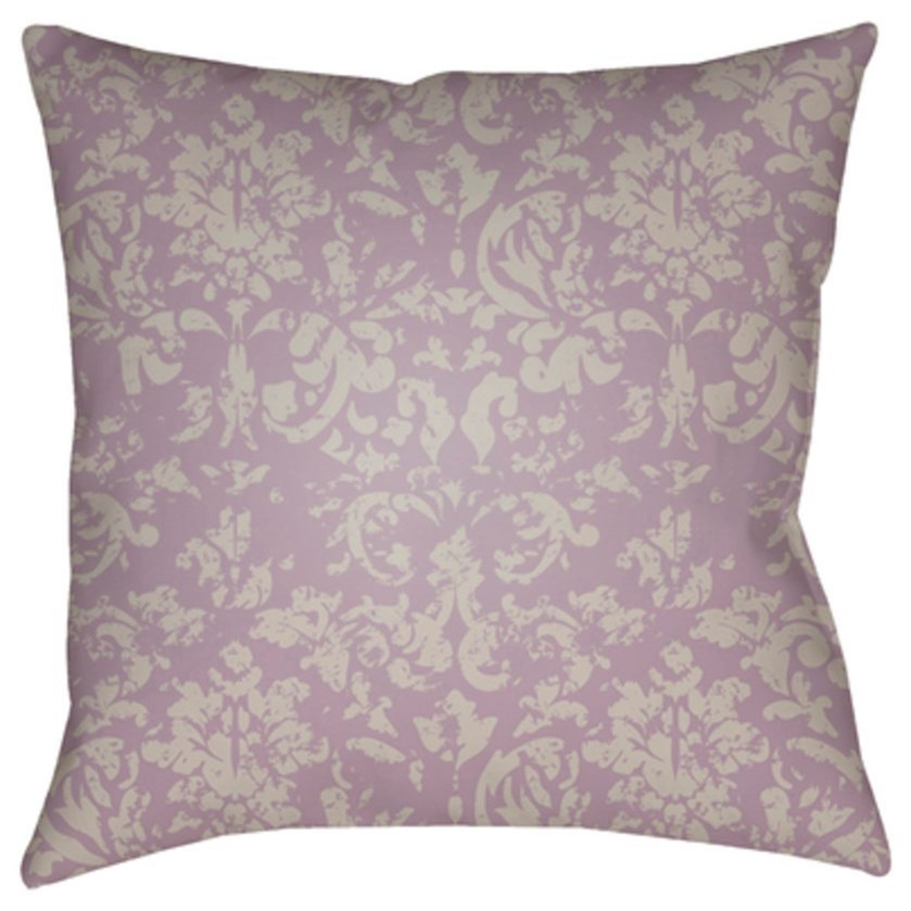 Moody Damask Pillow by Surya at SuperStore