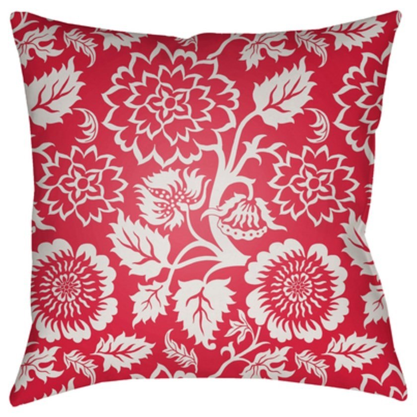 Moody Floral Pillow by Surya at Belfort Furniture