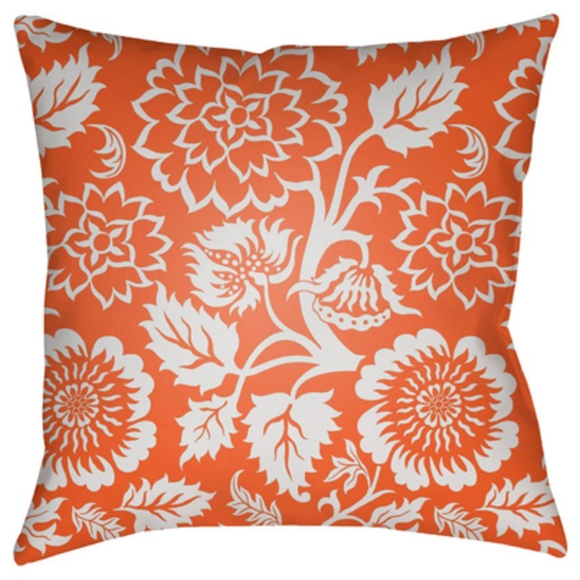Moody Floral Pillow by Surya at Goffena Furniture & Mattress Center