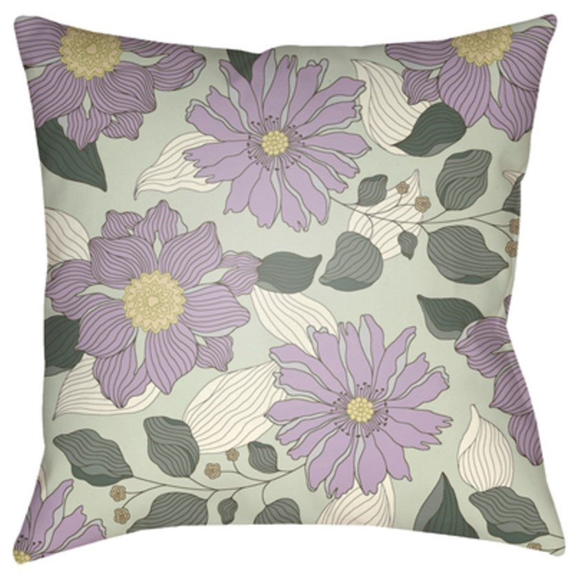 Moody Floral Pillow by Surya at Jacksonville Furniture Mart