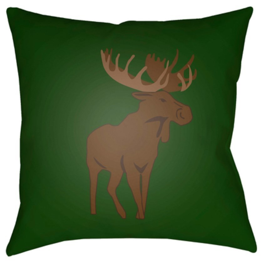 Moose Pillow by Ruby-Gordon Accents at Ruby Gordon Home