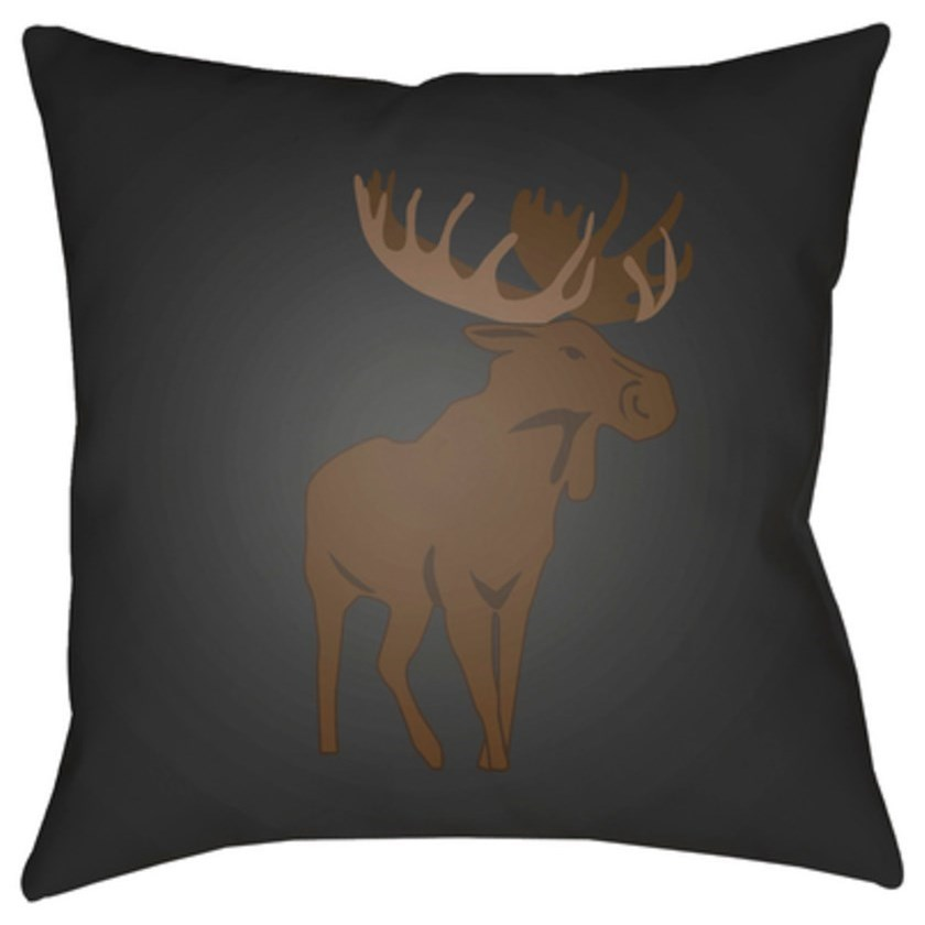 Moose Pillow by Surya at Fashion Furniture
