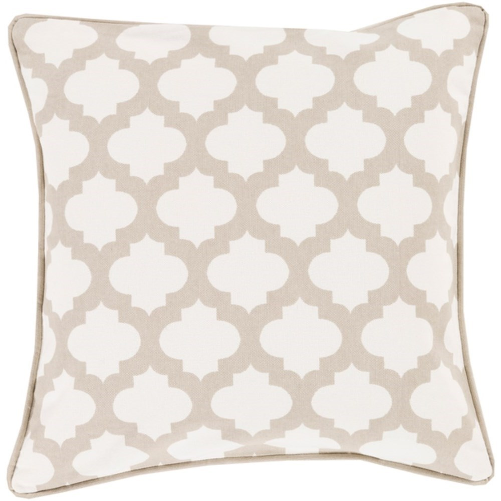 Moroccan Printed Lattice Pillow by Surya at SuperStore