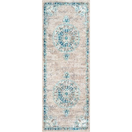 """Morocco 5'3"""" Round Rug by 9596 at Becker Furniture"""