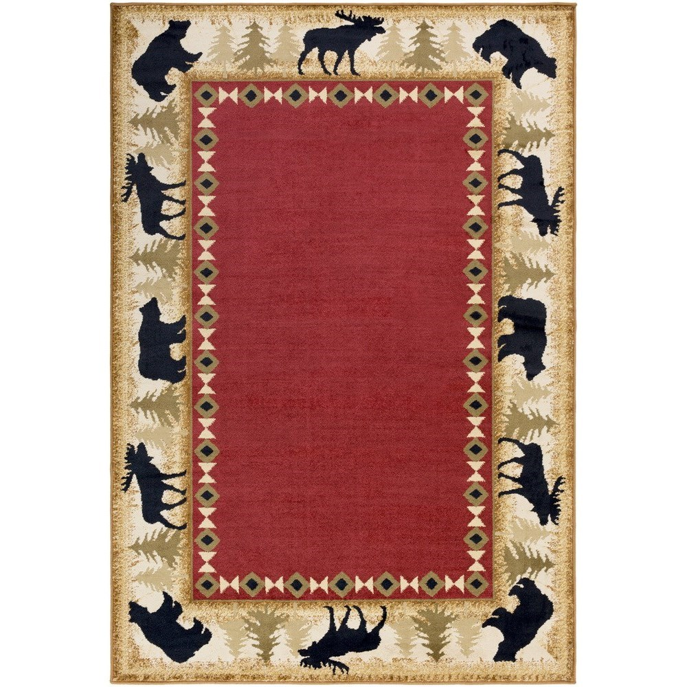 "Mountain Home 7'10"" x 10'10"" Rug by Surya at SuperStore"