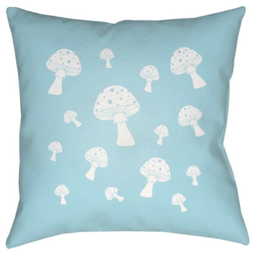 Mushrooms Pillow by Ruby-Gordon Accents at Ruby Gordon Home