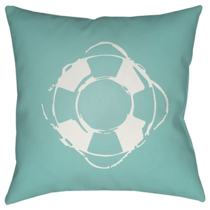 Nautical Pillow by Surya at Lagniappe Home Store