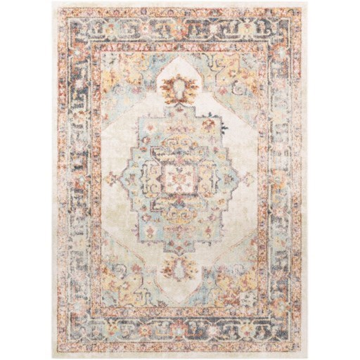 """New Mexico 5'3"""" Round Rug by Ruby-Gordon Accents at Ruby Gordon Home"""
