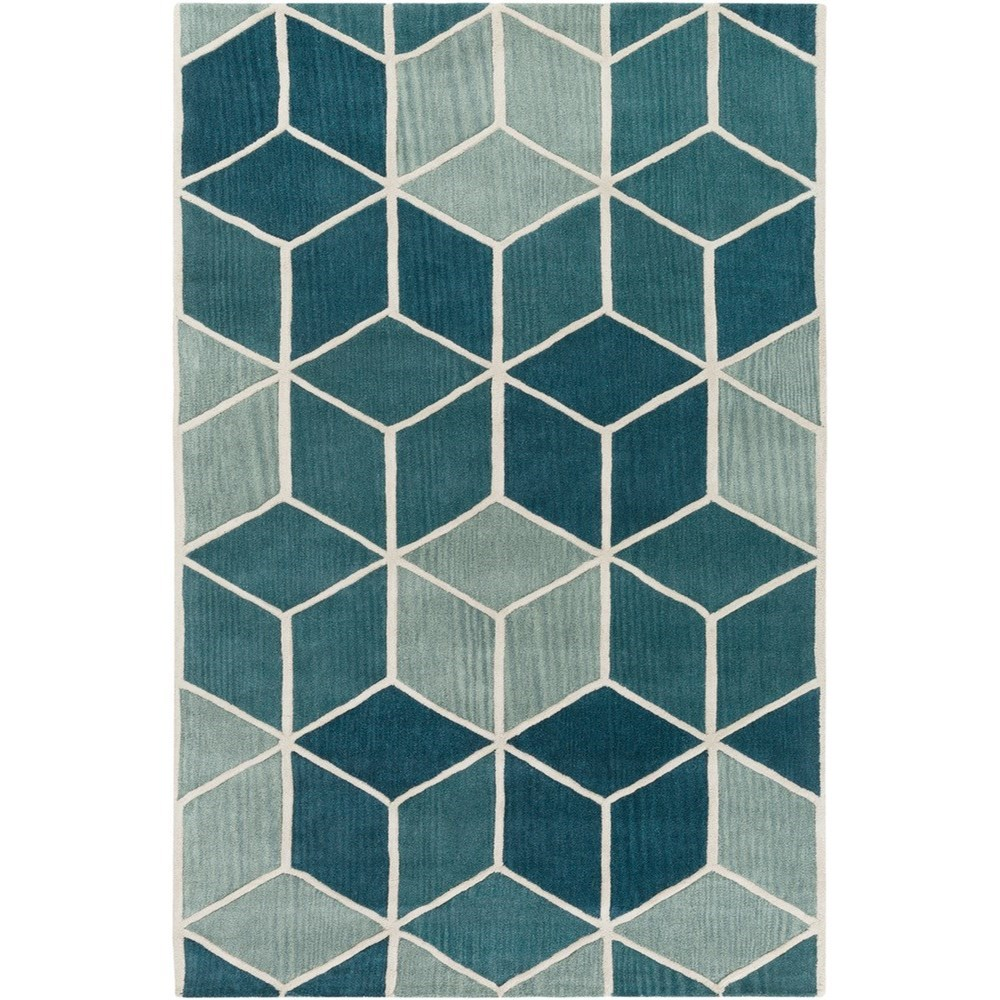 """Oasis 3'3"""" x 5'3"""" Rug by 9596 at Becker Furniture"""