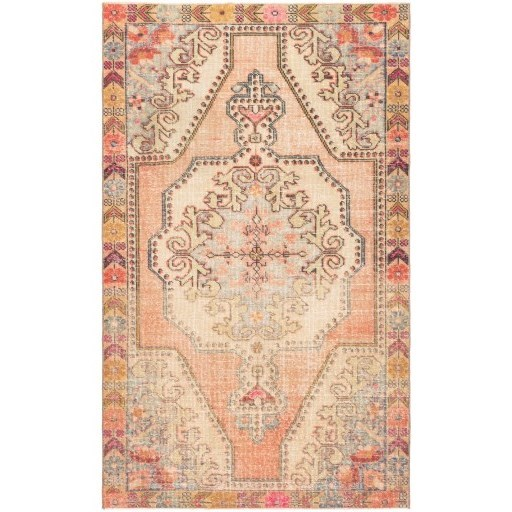 """One of a Kind 4'2"""" x 6'11"""" Rug by Ruby-Gordon Accents at Ruby Gordon Home"""